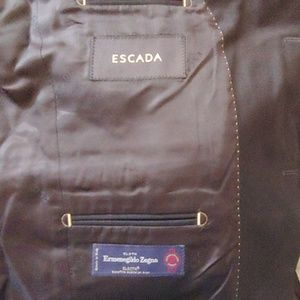 Ermenegildo Zenga and Escada suit blazer